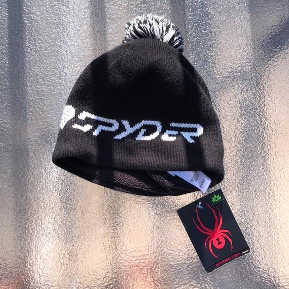 75c3e4fdd13 NWT new I ❤ SPYDER POM POM WINTER HAT